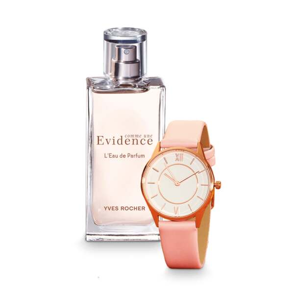 Yves Rocher Geschenksets - Set Comme une evidence + Uhr