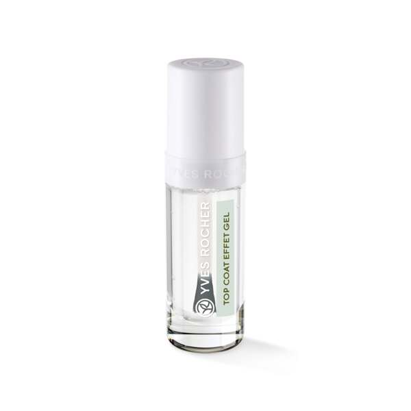 Gel Effect Top Coat - Transparent
